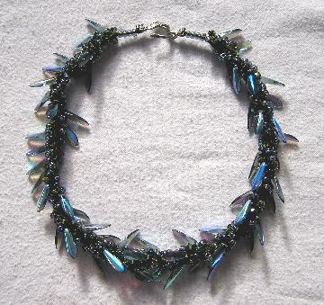 Sprial Knit Necklace