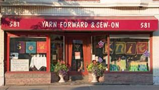 Yarn Forward & Sew-On