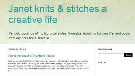Janet Knits & Stitches a Creative Life