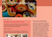 Debbie Adams - Sewing Stash Challenge