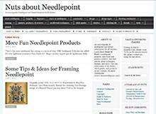 Nuts about Needlepoint - Janet M. Perry