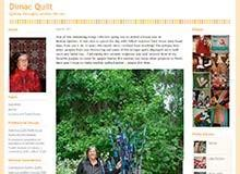 Diane Shink - Quilting thoroughly satisfies the soul.